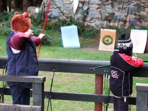 Woodend camp Archery