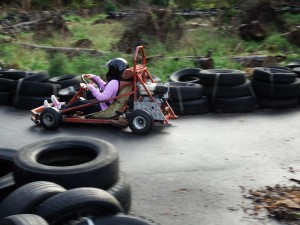 Woodend go-carts