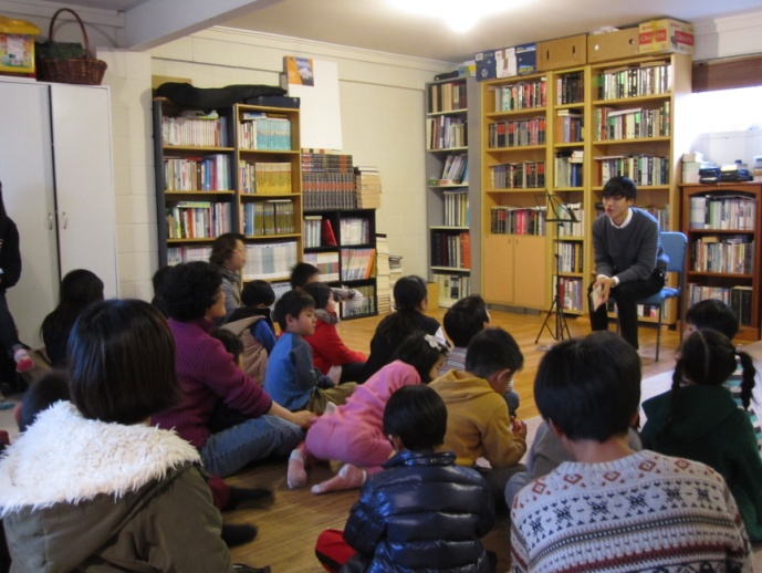 Good News Club at the Korean ministry